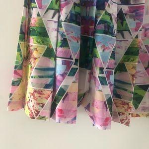 Amanda Uprichard Dresses - 🌸AMANDA UPRICHARD Silk Strapless Floral Dress, S
